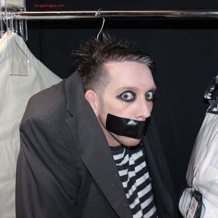 The Comedian Tape Face (Real Name Sam Wills)  Mime on 'America's Got Talent'