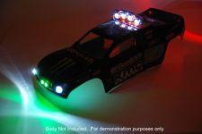 RC Light Bar Custom LED Set for Traxxas Rustler E-Revo Slash (Body Not Included)