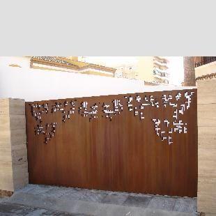 17 best corten steel inspiration images on pinterest for Acero corten perforado oxidado