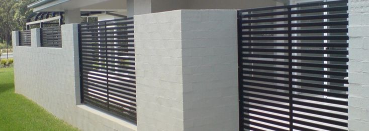 Best 25 Aluminium Fencing Ideas On Pinterest Modern