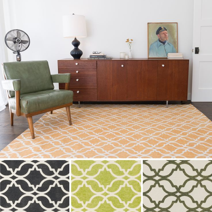 Flatweave Ledbury Moroccan Cotton Rug 36 X 56 By Alexander Home