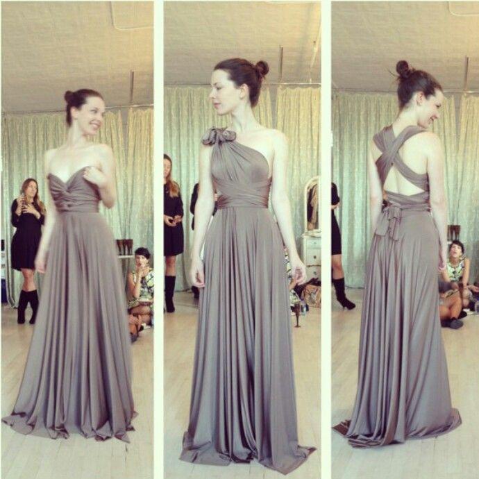 Ways To Wear A Multi Way Dress