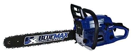 """Blue Max Gas Chainsaw 52cc, Blue, 20"""" > 20"""" Bar & Chain .325"""" Pitch Maximum RPM 10,500 Check more at http://farmgardensuperstore.com/product/blue-max-gas-chainsaw-52cc-blue-20/"""