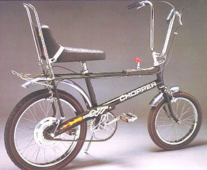The Raleigh Chopper...  This is the ORIGINAL RALEIGH CHOPPER...  5 Speed...  LOVED IT...!!!