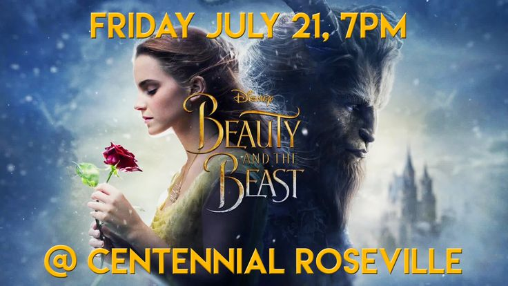Summer Movies on the lawn! Join us Friday, July 21  at 7:00 pm at the Roseville campus to watch Beauty and the Beast!  #CentennialUMC
