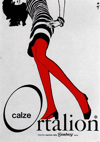 1960s Advertising - Poster - Ortalion (Italy), via Flickr.