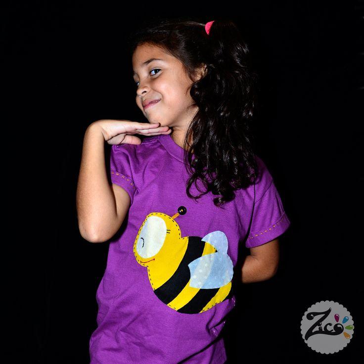 La Cami y la #abeja