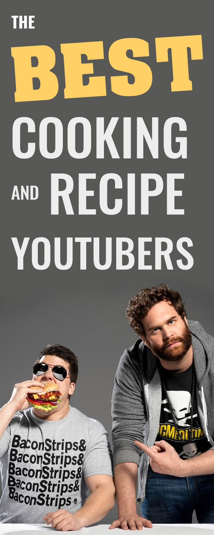 When ranking the best cooking YouTubers, Gordon Ramsay and Jamie Oliver are definitely in the top ten. These two great chefs teach holiday recipes, knife skills, and basic cooking tips. Other good YouTube cooking channels include Epic Meal Time, Food Wishes, Binging with Babish, You Suck at Cooking, and Laura in the Kitchen.