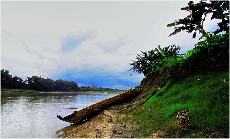 Perahu bengawan solo #rusak