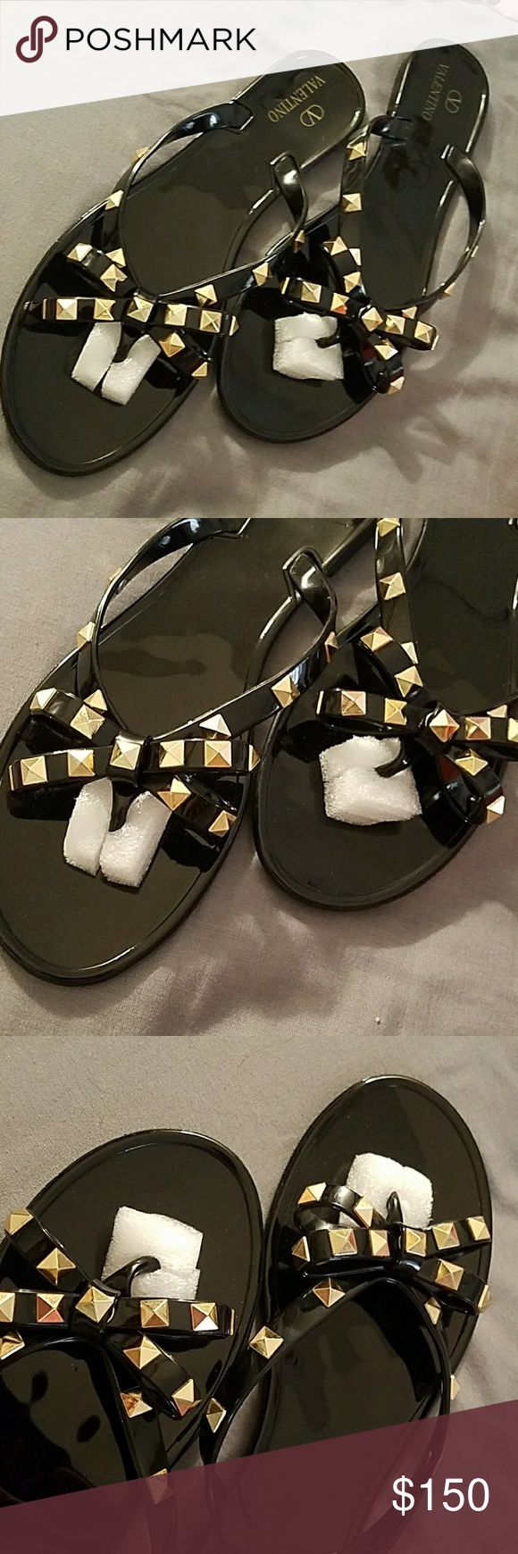 VALENTINO GARAVANI SANDALS/SLIPPERS BRAND NEW  MESSAGE ME FIRST FOR UR SIZE AVAILABLE IN SIZE 6-9 US SIZES Valentino Garavani Shoes Sandals
