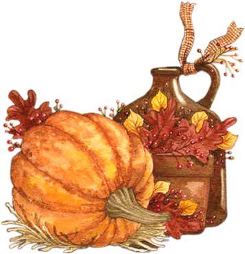 1022 Best Autumn Clip Art And Images Images On Pinterest