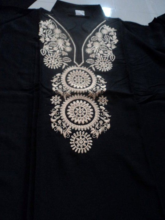 hand embroidery designs for kurtis - Google Search