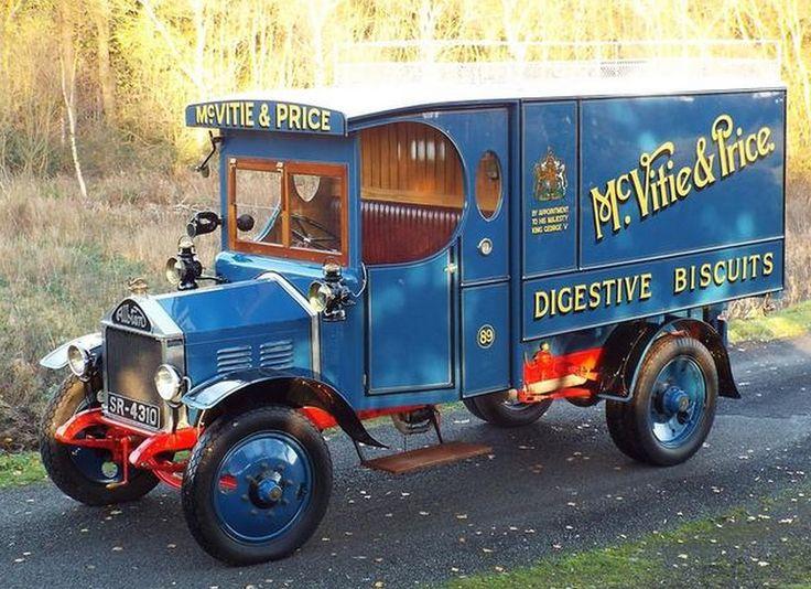1924 Albion Type 24 30CWT Delivery Van
