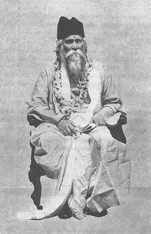 Rabindranath in Gujarat (1920) (from: The Report of the Sixth Gujarati Sahitya Parishad-1920 (pub.1923))