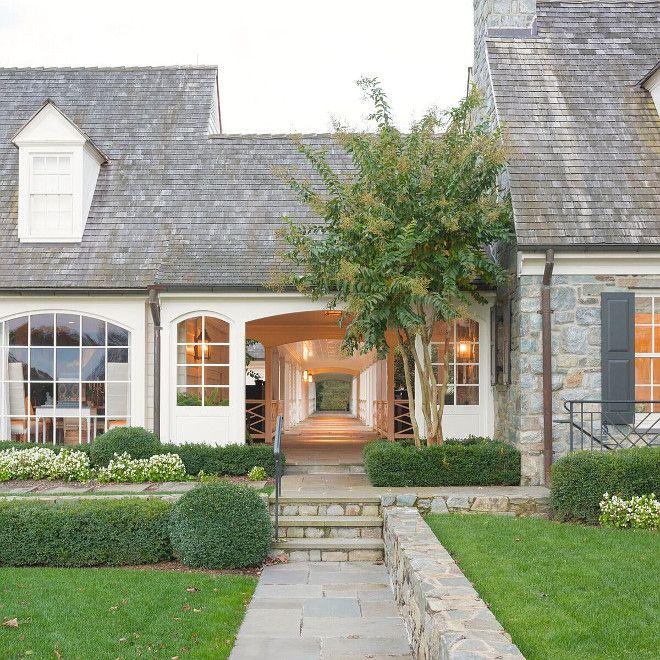 736 best images about fabulous exteriors on pinterest for Breezeway house