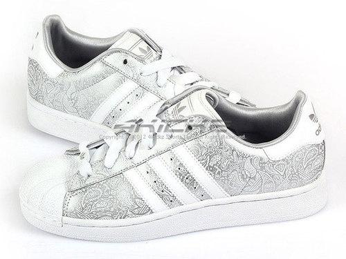 adidas superstar 2 white silver