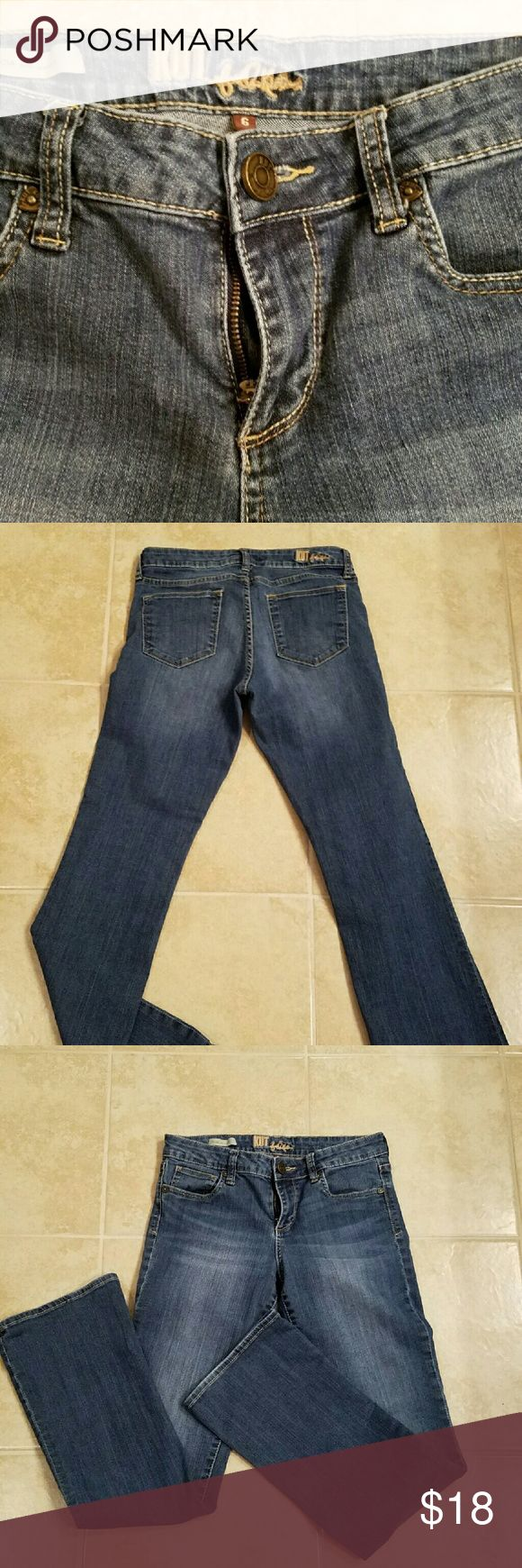 Kut Jeans Size 6, good used condition Jeans Boot Cut