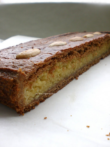 Gevulde Speculaas - Dutch Speculaas Cake filled with Amandelspijs (Dutch Almond Paste)