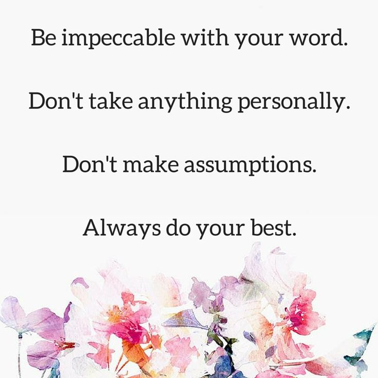 The Four Agreements - Toltec Wisdom
