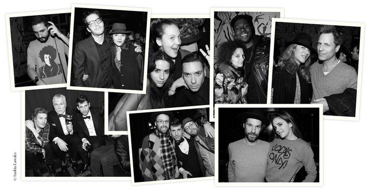 Mercredi 7 Février, premier jour de la Fashion Week automne-hiver 2013-2014 à New York, l'artiste Aaron Young et la marque Surface to Air célébraient le lancement de leur premi