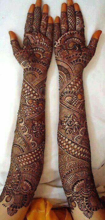 Bridal mehndi design...