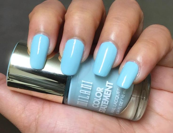 Milani Color Statement Nail Polish ~ Mint Crush Swatches