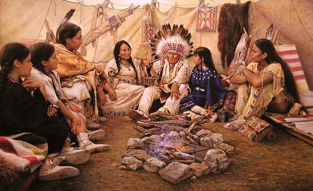 Pinturas realísticas dos índios norte americanos                                                                                                                                                                                 Mais