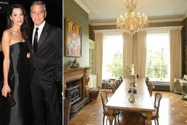George Clooney and Mrs.'(sniff) English Country Home. // I'M NOT EVEN GONNA SAY IT.....lol! ;) ♥A