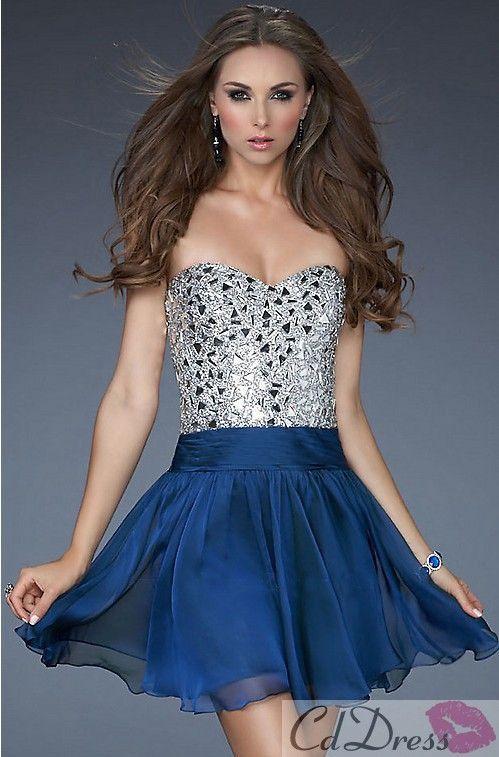 Silver/blue dress. Christmas?