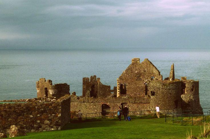 Dunluce Castle, Causeway coastal route, North Ireland