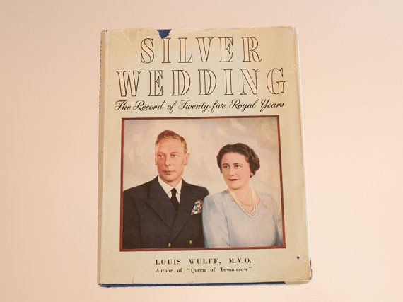 Vintage book: 'Silver Wedding' by Louis Wulff by freshdarling
