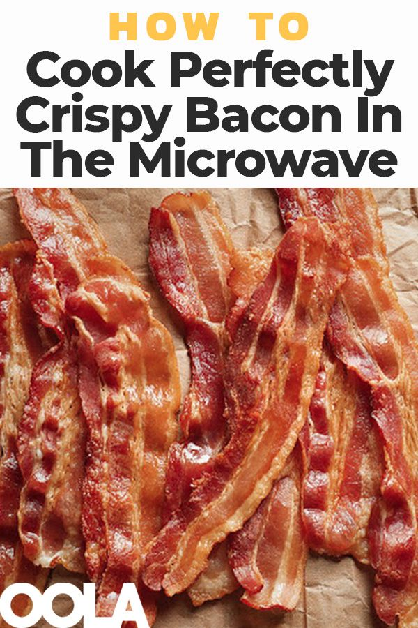 How To Cook Perfectly Crispy Bacon In