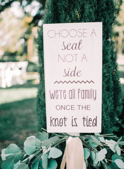 Seating sign: http://www.stylemepretty.com/california-weddings/camarillo/2015/02/06/rustic-glamour-camarillo-ranch-wedding/ | Photography: Mariel Hannah - http://www.marielhannahphoto.com/