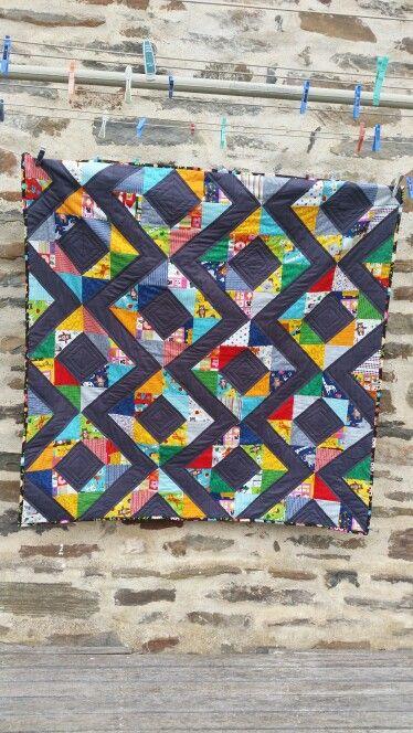 Hello Friend diamond quilt