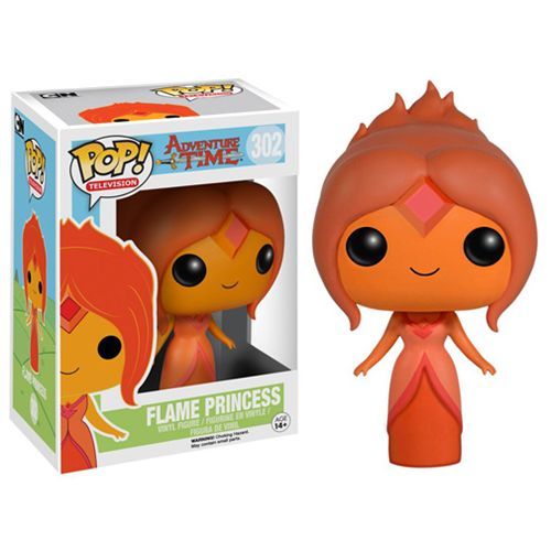 Adventure Time Flame Princess Pop! Vinyl Figure - Funko - Adventure Time - Pop! Vinyl Figures at Entertainment Earth