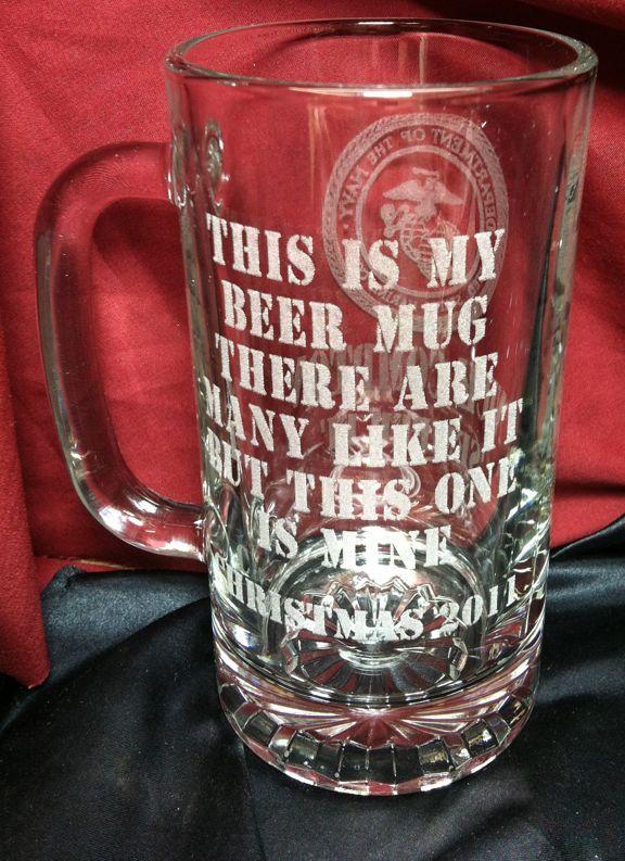 marine corps wedding ideas | Marine Wedding Themed Beer Mugs ...
