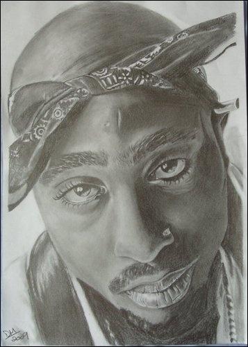 2Pac , Tupac Shakur <3