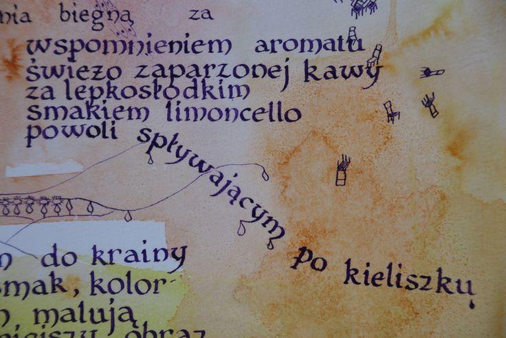With poem of Monika Zawadzka