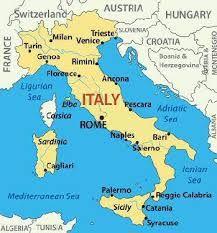 Torino Italia Map
