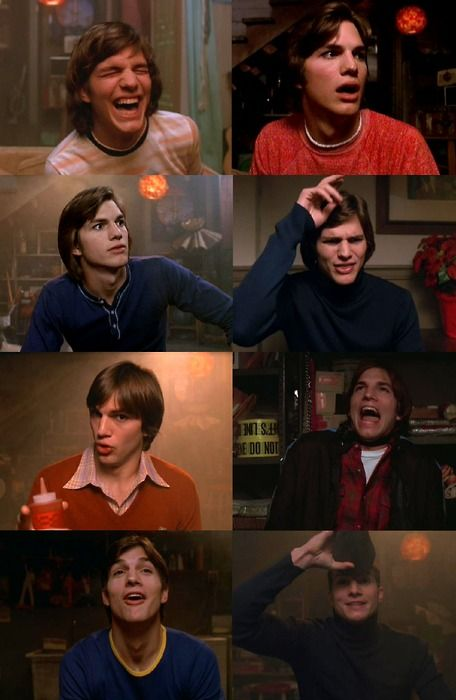 Michael Kelso from that 70s show, My favorite show at the moment