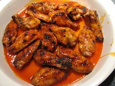 Lynda's Recipe Box: Buffalo Chicken Wings! On the Grill or in the Oven!