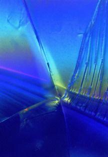 Microscoopfoto van een Aquamarijn