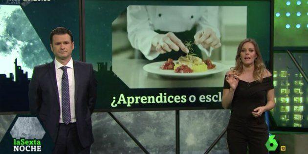 Revilla desvela en pleno directo que los presentadores de 'La Sexta Noche' van a ser padres