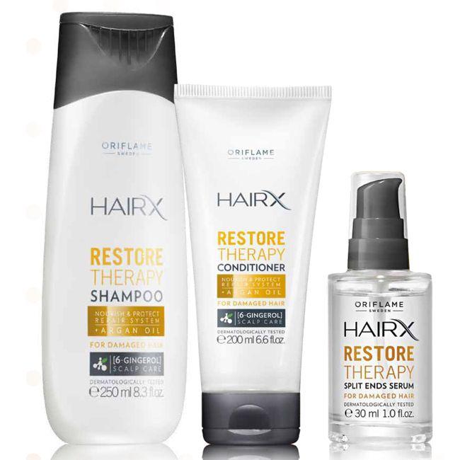 Σετ HairX Restore Therapy #oriflame