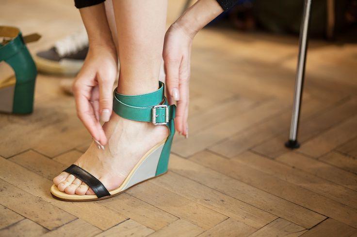 #Lookbook @spazio 11b p/e 2014 sandali #MM6 Maison Martin Margela