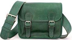 LaSacoche (S) Besace cuir bandoulière de couleur vert Emeraude style Vintage PAUL MARIUS: Amazon.fr: Chaussures et Sacs