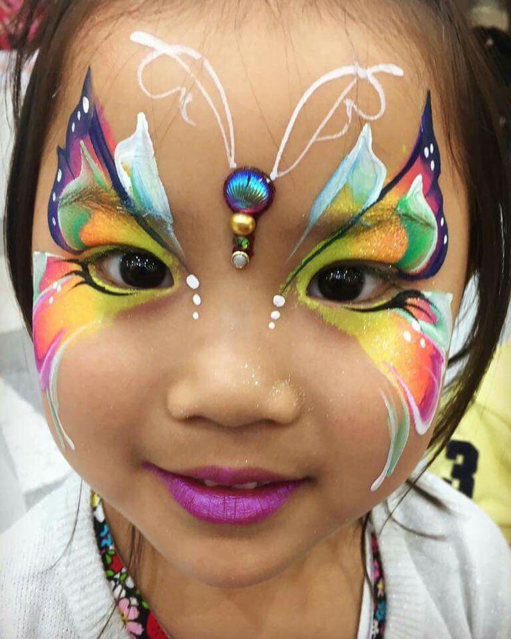Pin en face painting designs