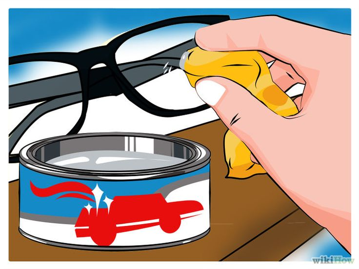 Remove Scratches From Plastic Lens Glasses Lenses