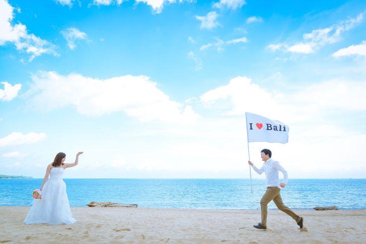 おすすめポーズ 花嫁の元へダッシュ