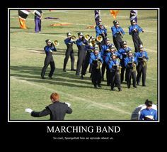 """Marching Band Drum Majors by featherbrained-flute on DeviantArt"""" Life throws you curves. Being prepared is everything. Be ready for anything - DrumCorpsReady.com"""